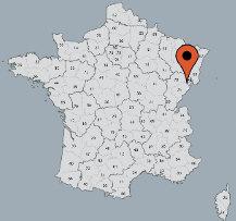 Aussenansicht vom Gruppenhaus 05335330 Gruppenhaus PESEUX in Frankreich F-39120 Peseux für Gruppenfreizeiten
