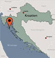 Aussenansicht vom Gruppenhaus 00380850 Mobilheime MALI LOSINJ in Kroatien HR Mali Losinj für Gruppenfreizeiten