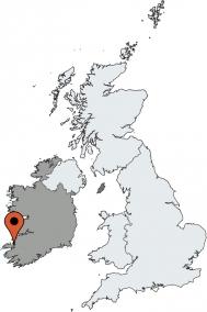 Karte von der Gruppenunterkunft 05355108 Gruppenhaus KERRY-ANNASCAUL in Dänemark  Annascaul-Kerry für Kinderfreizeiten