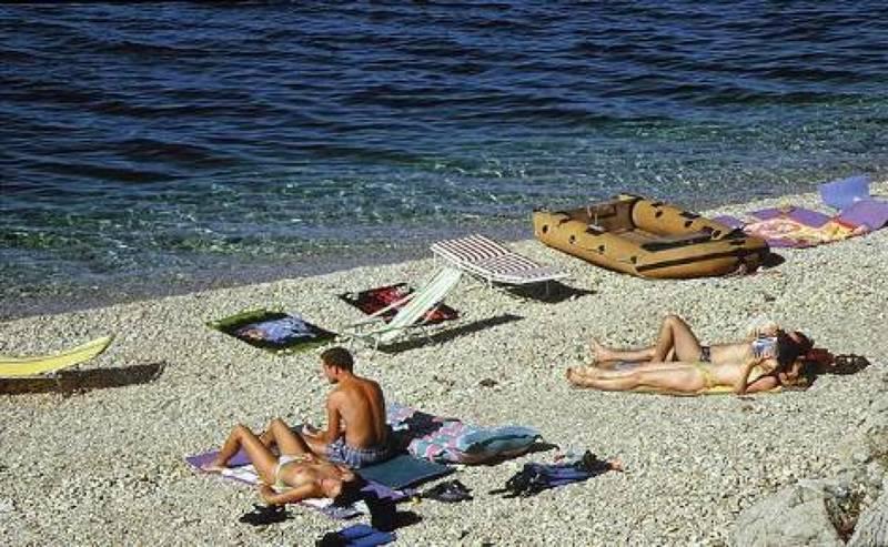 Bademöglichkeit von der Gruppenunterkunft 05375387 Ehemaliges Hotel LAV in Bosnien-Herzegovina BIH-88390 Neum für Jugendfreizeiten