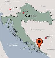 Aussenansicht vom Gruppenhaus 05375387 Ehemaliges Hotel LAV in Bosnien-Herzegovina BIH-88390 Neum für Gruppenfreizeiten
