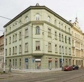 Aussenansicht vom Gruppenhaus 05425200 Appartementhotel PRAG in Dänemark CZ 12000 PRAG für Gruppenfreizeiten