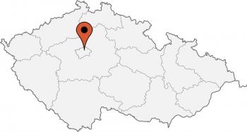 Karte von der Gruppenunterkunft 05425200 Appartementhotel PRAG in Dänemark CZ 12000 PRAG für Kinderfreizeiten