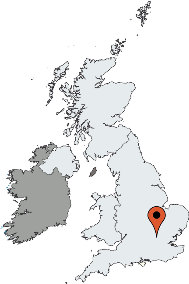 Karte von der Gruppenunterkunft 05445104 OUTDOOR EDUCATION Center in Dänemark GB (MK3) Bletchley für Kinderfreizeiten