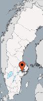 Aussenansicht vom Gruppenhaus 05465005 Gruppenhaus STENSTUGA in Schweden S- Katrineholm für Gruppenfreizeiten