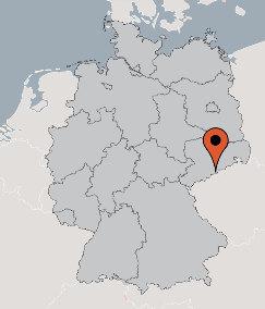 Karte von der Gruppenunterkunft 05495110 Gruppenhaus Forsthaus SAYDA in Dänemark D-09619 SAYDA - Sachsen für Kinderfreizeiten