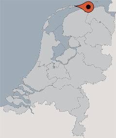 Karte von der Gruppenunterkunft 07317001 Gruppenhaus BUREN in Dänemark 9164 BUREN für Kinderfreizeiten