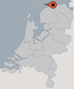 Karte von der Gruppenunterkunft 07317008 Gruppenhaus HOLLUM in Dänemark 9161 HOLLUM für Kinderfreizeiten