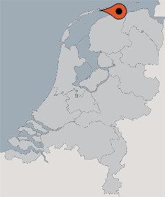 Karte von der Gruppenunterkunft 07317009 Gruppenhaus HOLLUM D in Dänemark NL HOLLUM für Kinderfreizeiten