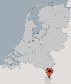 Karte von der Gruppenunterkunft 07317029 Gruppenhaus t  Auwershoes in Dänemark NL-6311 RANSDAAL für Kinderfreizeiten