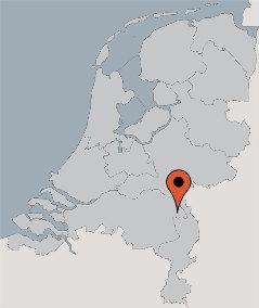 Karte von der Gruppenunterkunft 07317035 Gruppenhaus DE BRINK in Dänemark 5844 Stevensbeek für Kinderfreizeiten