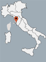 Aussenansicht vom Gruppenhaus 00390102 ZEBU<sup>®</sup>-Dorf TOSKANA - L - in Italien 58100 Marina di Grosseto für Gruppenfreizeiten