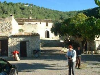 Aussenansicht vom Gruppenhaus 07347100 Gruppenhaus SITGES in Spanien ES- Sitges für Gruppenfreizeiten