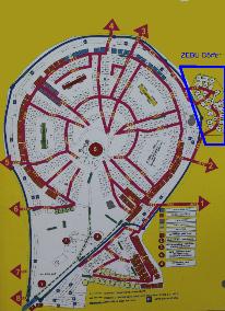 Karte von der Gruppenunterkunft 00390103 ZEBU-Dorf Toskana - Italien in Dänemark I-58100 GROSSETO für Kinderfreizeiten