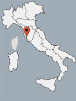 Aussenansicht vom Gruppenhaus 00390103 ZEBU<sup>®</sup>-Dorf TOSKANA - X - in Italien 58100 Marina di Grosseto für Gruppenfreizeiten