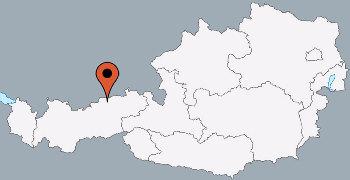 Karte von der Gruppenunterkunft 07437001 Gruppenhaus KARLINGERHOF in Dänemark A-6215 Achenkirch für Kinderfreizeiten