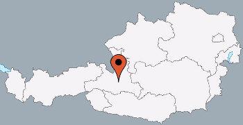 Karte von der Gruppenunterkunft 07437028 Gruppenhaus ST. VEITH in Dänemark A-5620 Schwarzach für Kinderfreizeiten