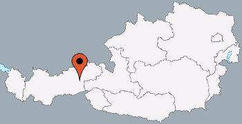 Karte von der Gruppenunterkunft 07437029 Gruppenhaus STUMMBERG in Dänemark A-6276 Stummerberg im Zillertal für Kinderfreizeiten