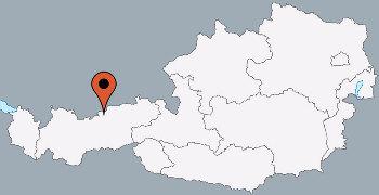 Karte von der Gruppenunterkunft 07437002 Gruppenhaus TUXERHOF in Dänemark A-6215 Achenkirch für Kinderfreizeiten
