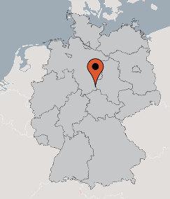 Karte von der Gruppenunterkunft 07497012 Gruppenhaus BRAUNLAGE in Dänemark 38700 BRAUNLAGE für Kinderfreizeiten