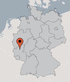 Karte von der Gruppenunterkunft 07497026 Gruppenhaus BLANKENRATH in Dänemark D-56865 BLANKENRATH für Kinderfreizeiten