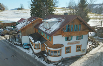 Aussenansicht vom Gruppenhaus 07497035 Gruppenhaus RETTENBERG in Dänemark D-87549 RETTENBERG für Gruppenfreizeiten