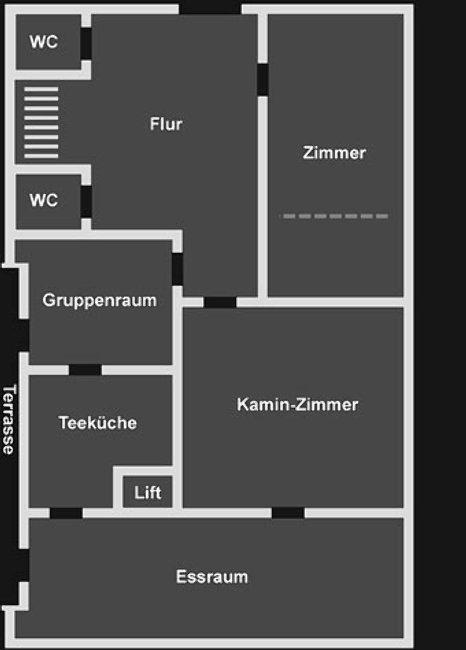 Grundrisse von der Gruppenunterkunft 07497054 Gruppenhaus HANERAU in Dänemark D-25557 Hanerau für Jugendfreizeiten