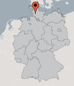 Karte von der Gruppenunterkunft 07497054 Gruppenhaus HANERAU in Dänemark D-25557 Hanerau für Kinderfreizeiten