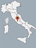 Aussenansicht vom Gruppenhaus 00390800 ZEBU-Mobilhomes ROM in Italien I-00163 Rom für Gruppenfreizeiten