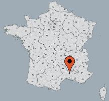Aussenansicht vom Gruppenhaus 08338100 Gruppenhaus MAS GARONNE in Frankreich F- Uzes für Gruppenfreizeiten