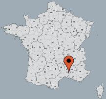 Aussenansicht vom Gruppenhaus 08338101 Gruppenhaus LE MOULIN in Frankreich F- Montfrin für Gruppenfreizeiten