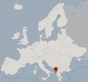 Karte von der Gruppenunterkunft 08308402 Gruppenhaus VONDAS in Dänemark GR Roda für Kinderfreizeiten