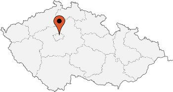 Karte von der Gruppenunterkunft 00420900 Jugendhotel PRAG in Dänemark CZ- Praha 7 für Kinderfreizeiten