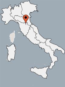 Karte von der Gruppenunterkunft 05395531 Gruppenhaus LE CAMPORA in Dänemark 50032 Borgo San Lorenzo für Kinderfreizeiten