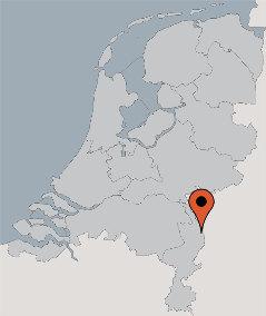 Karte von der Gruppenunterkunft 00310594 Gruppenhaus Maasduinen 1 in Dänemark 5944 Arcen für Kinderfreizeiten