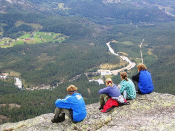 Aussenansicht vom Gruppenhaus 04474050 Wildniscamp SÜDNORWEGEN in Norwegen  Åmli für Gruppenfreizeiten