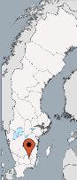 Aussenansicht vom Gruppenhaus 04464173 Kanutour RONNEBYAN in Schweden  Hovmantorp für Gruppenfreizeiten