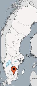 Karte von der Gruppenunterkunft 04464173 Kanutour RONNEBYAN in Dänemark  Hovmantorp für Kinderfreizeiten