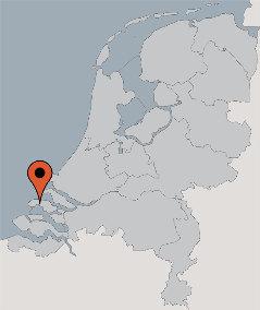 Karte von der Gruppenunterkunft 00310433 Buizerd in Dänemark 4327 SE Serooskerke für Kinderfreizeiten