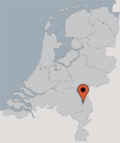 Karte von der Gruppenunterkunft 00310583 Gruppenhaus LIMBURGSE PEEL in Dänemark 5814 Veulen für Kinderfreizeiten