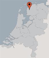 Aussenansicht vom Gruppenhaus 00310902 Ehem. Kirche FRIESLAND in Niederlande 9021 CR Easterwierrum für Gruppenfreizeiten