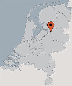 Karte von der Gruppenunterkunft 00310805 Gruppenhaus Hattem in Dänemark 8051  Hattem für Kinderfreizeiten
