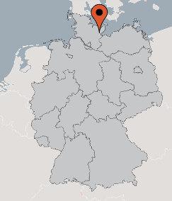 Karte von der Gruppenunterkunft 07497009 Gruppenhaus Süsel in Dänemark 23701 Süsel für Kinderfreizeiten