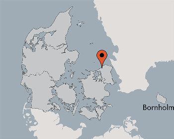 Karte von der Gruppenunterkunft 03453800 KLK-Gruppenhaus - Lille Katrinedal in Dänemark 3300 Frederiksvaerk für Kinderfreizeiten