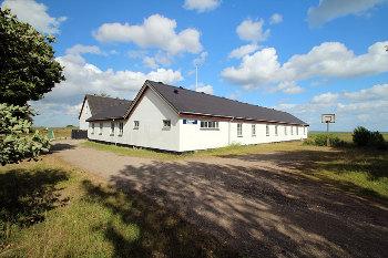 Aussenansicht vom Gruppenhaus 03453805 KLK-Gruppenhaus - Skansen in Dänemark 4581 Roervig für Gruppenfreizeiten