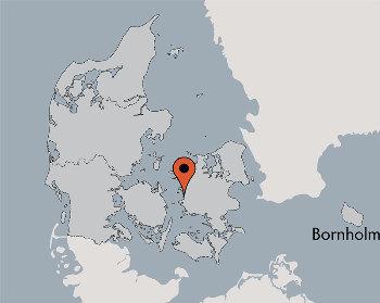 Karte von der Gruppenunterkunft 03453844 KLK-Gruppenhaus - NAESBYSTRAND in Dänemark 4200 Slagelse für Kinderfreizeiten