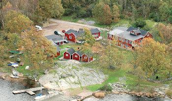 Aussenansicht vom Gruppenhaus 04464012 Freizeitanlage Aspans in Dänemark S-37297 Ronneby für Gruppenfreizeiten