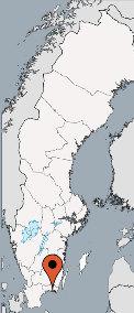 Karte von der Gruppenunterkunft 04464012 Freizeitanlage ASPANS in Dänemark S-37297 Ronneby für Kinderfreizeiten