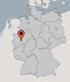 Karte von der Gruppenunterkunft 03493018 Jugendgästehaus Bergneustadt in Dänemark 51702 Bergneustadt für Kinderfreizeiten