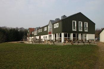 Aussenansicht vom Gruppenhaus 03453112 Houens Odde - Stensgården Dänemark 6000 Kolding für Gruppenfreizeiten